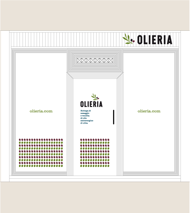 facciata negozio Olieria