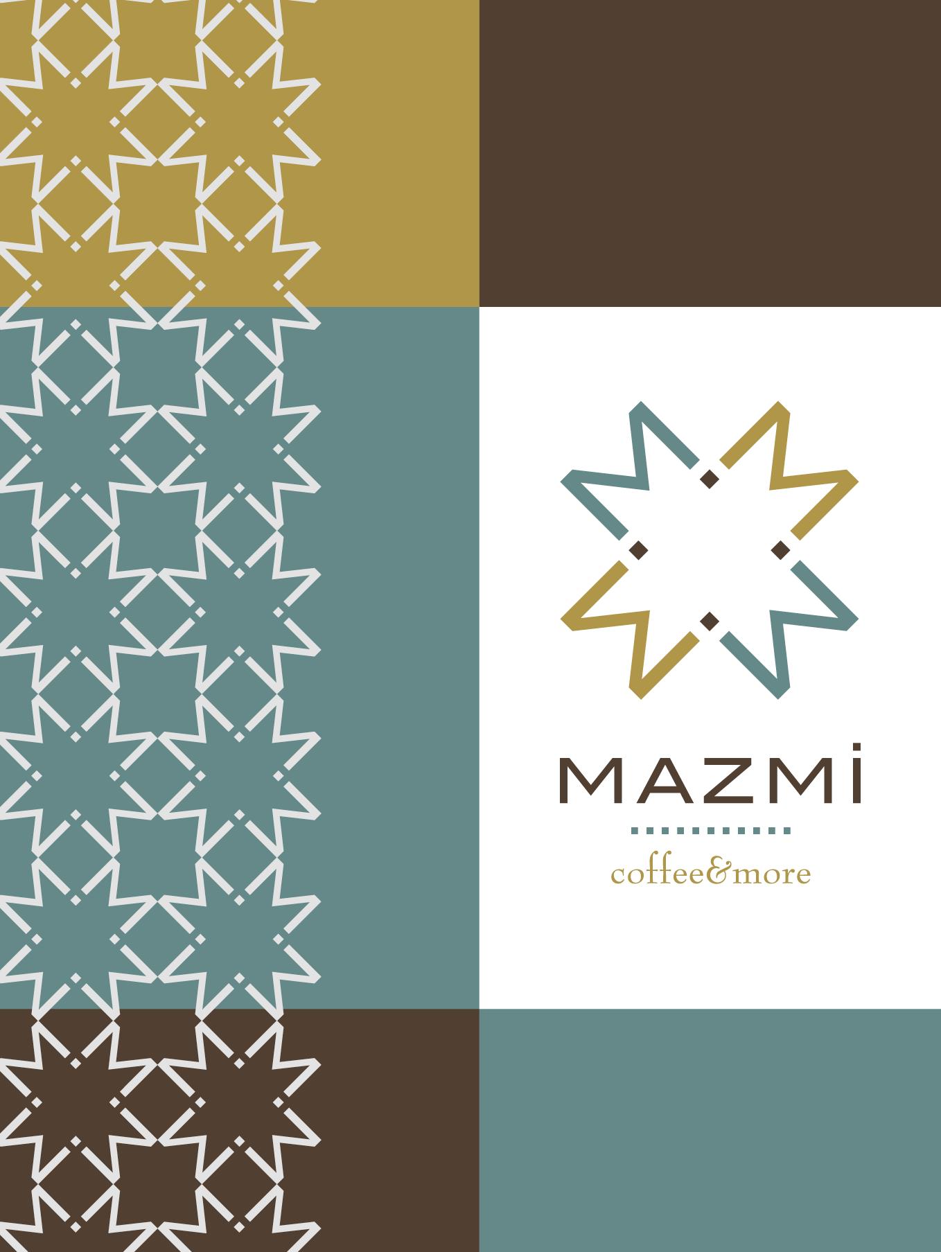 MAZMI menu cover