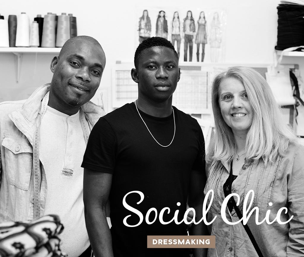 Social Chic team Facebook Studio Talpa