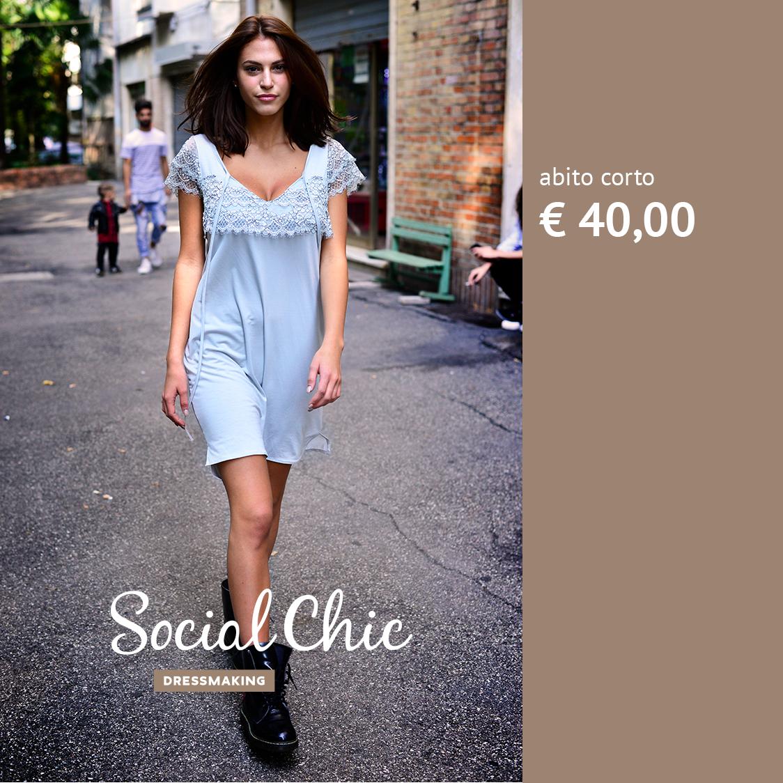 Social Chic post sponsorizzato Facebook Studio Talpa