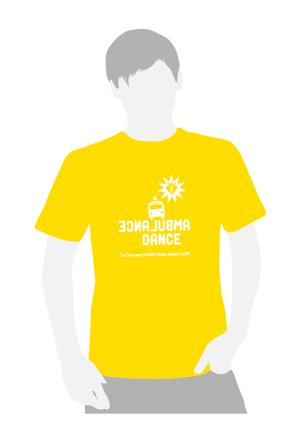 T-shirt AMBULANCE DANCE-01