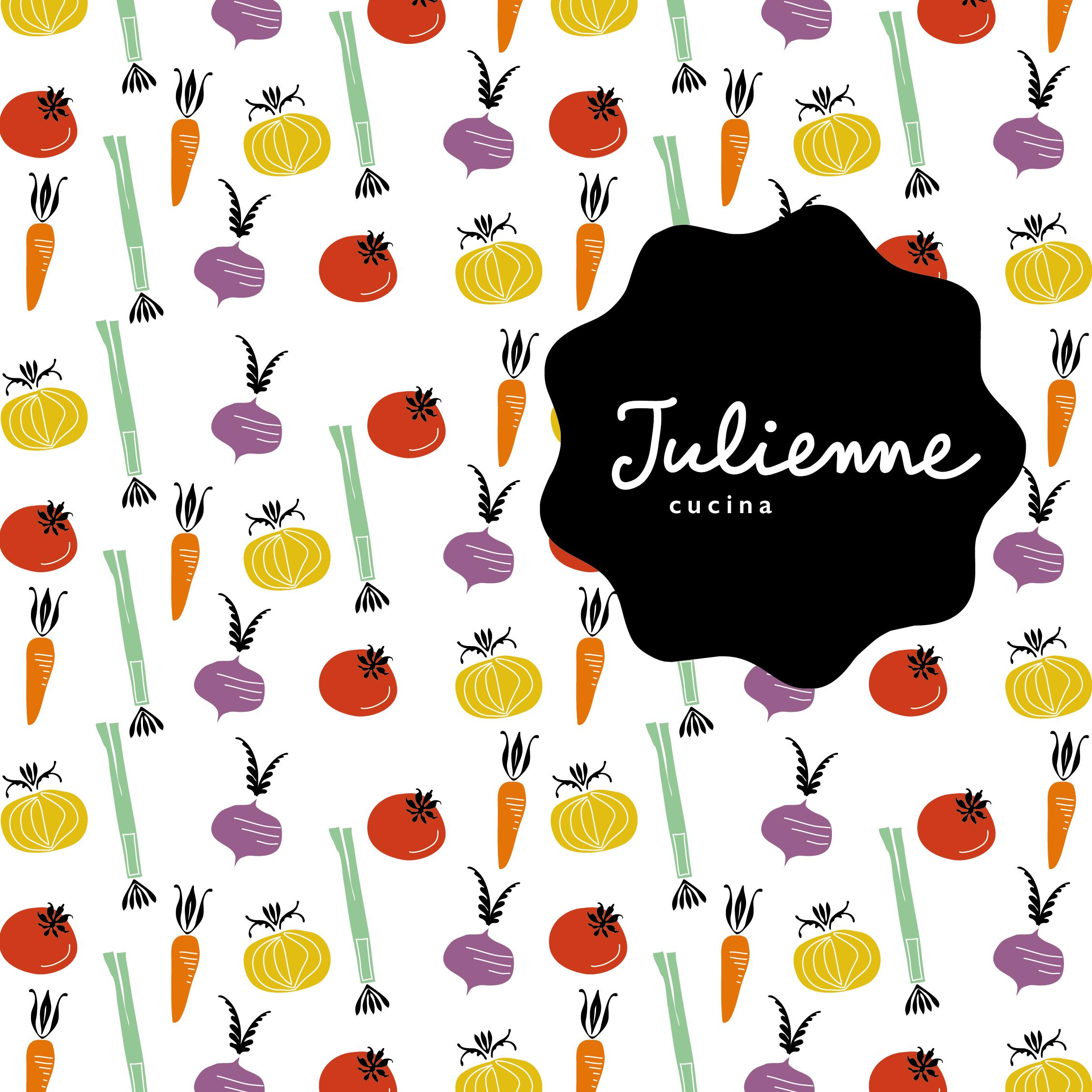 Julienne cucina format grafico - Studio Talpa